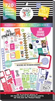 Me and My Big Ideas - The Happy Planner - Value Pack Stickers - Rainbow - BIG (#720)