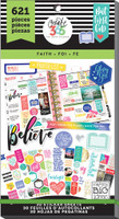 Me and My Big Ideas - The Happy Planner - Value Pack Stickers - Value Pack Stickers - Faith
