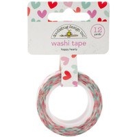 Doodlebug - Washi Tape - Happy Hearts