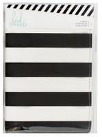 Heidi Swapp - Memory Planner 2017 Personal Black and White Stripe