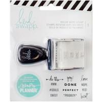Heidi Swapp - Memory Planner - Roller Word Stamps
