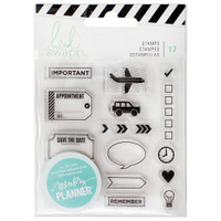 Heidi Swapp - Memory Planner Clear Stamps - Icons