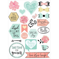 Sizzix - Planner Page Icon Stickers