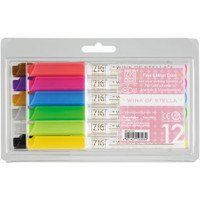 Zig Memory System Wink Of Stella Glitter Markers - 12 Pack