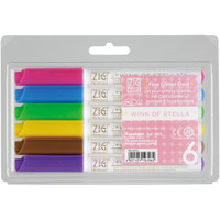 Zig Memory System Wink Of Stella Glitter Markers - 6 Pack