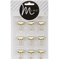 Heidi Swapp - Minc Binder Clips - Set of 9