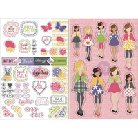 My Prima Planner - Julie Nutting Planner Monthly Stickers - 2 Pack - April