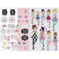 My Prima Planner - Julie Nutting - Monthly Planner Stickers - 2 Pack - May