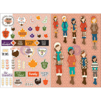 My Prima Planner - Julie Nutting - Monthly Stickers - 2 Pack - November