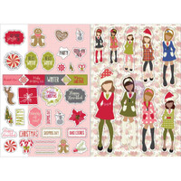 My Prima Planner - Julie Nutting - Monthly Stickers - 2 Pack - December
