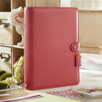 Webster's Pages - Color Crush - A5 Faux Leather Planner Kit - Light Pink (Undated)