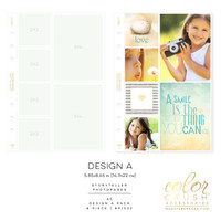 Webster Pages - Color Crush - A5 Photo Sleeves Design A 8-pk