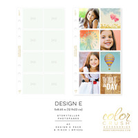 Color Crush - A5 Photo Sleeves Design E 8-pk