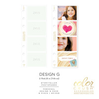 Color Crush - Personal Photo Sleeves Design G 8-pk