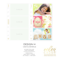 Color Crush - Personal Photo Sleeves Design H 8-pk