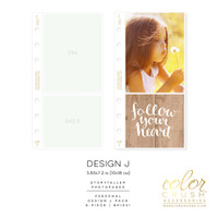 Webster's Pages - Color Crush - Photo Sleeves, Planner Pocket - Personal - Design J