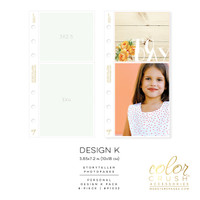 Webster's Pages - Color Crush - Photo Sleeves - Personal - Design K