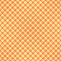 Riley Blake Fabric - Bee Basics - Lori Holt - Gingham Orange #C6400-Orange
