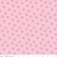 Riley Blake Fabric - Bee Basics - Lori Holt - Blossom Pink
