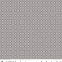 Riley Blake Fabric - Bee Basics - Lori Holt - Polka Dot Gray #C6405-GRAY