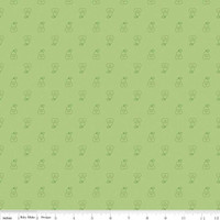 Riley Blake Fabric - Bee Basics - Lori Holt - Pear Green #C6406-GREEN
