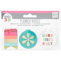 Create 365 - Me and My Big Ideas - The Happy Planner - Magnetic Bookmarks - Bright