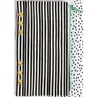 "My Prima Planner - Zippered Pencil Pouch 4"" x 8"" - Cute Stripes"
