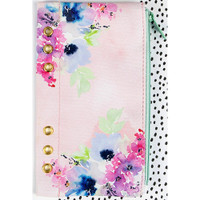 "Prima Marketing - My Prima Planner Zippered Pen & Pencil Bag 4"" x 8"" - Floral"