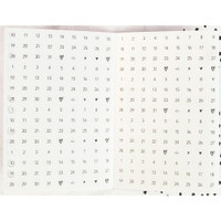 Prima Marketing - My Prima Planner Embellishments - Mini Stickers - Date Dots, Numbers