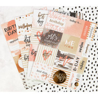 My Prima Planner - Cardstock Stickers