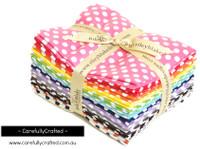Riley Blake Fabrics - Small Dots - Fat Quarter Bundle