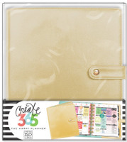 Me and My Big Ideas - The Happy Planner Deluxe Cover - Gold - BIG