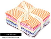 Riley Blake Fabrics - Small Gingham - Fat Quarter Bundle