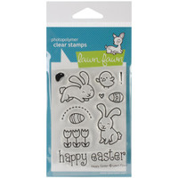 Lawn Fawn Clear Stamps - Happy Easter