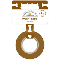 Doodlebug Washi Tape 15mm X 12yd - Bitty Bones