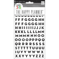 Me and My Big Ideas - The Happy Planner - Alphabet Stickers - Black