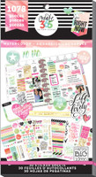 Me and My Big Ideas - The Happy Planner - Value Pack Stickers - Watercolor