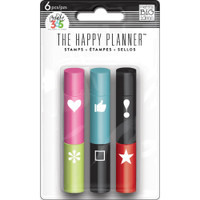 Me and My Big Ideas - The Happy Planner - Stackable Stamps - Icons - Self Inking Stamps
