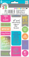 Me and My Big Ideas - The Happy Planner - Planner Basics Stickers - Neon
