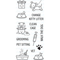 Your Next Stamp - Clear Planning Stamps - Pet Planning