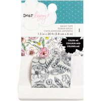 American Crafts - Dear Lizzy Lovely Day Washi Tape - Coloring
