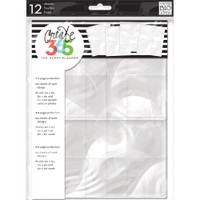 Create 365 - Me and My Big Ideas - The Happy Planner - Page Protectors - 12 Pk - Classic