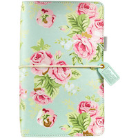 Webster's Pages - Color Crush - Travelers Journal - Mint Floral - Standard