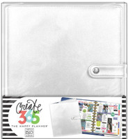 Create 365 - Me and My Big Ideas - The Happy Planner™ Deluxe Cover - Silver - BIG