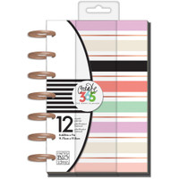 The Happy Planner - Me and My Big Ideas - Mini- Lovely Pastels - 12 Months (Undated, Horizontal)