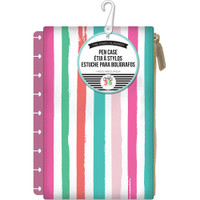 Me and My Big Ideas - The Happy Planner - Snap In Pen Case - Painted Stripe
