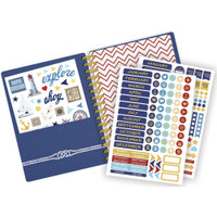"Paper House - Spiral Bound Planner 7.5"" X 8.5"" - Anchors Away (Undated)"