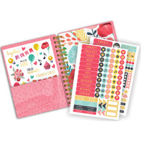 "Paper House - Spiral Bound Planner 7.5"" X 8.5"" - Everyday Moments (Undated)"