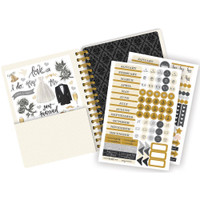 "Paper House - Spiral Bound Planner 7.5"" X 8.5"" - Always and Forever Wedding (Undated)"