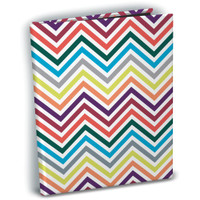 "Ultra Pro - Mini Photo Album 4""X 6"" - Rainbow Chevron"